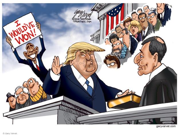 Gary Varvel  Gary Varvel's Editorial Cartoons 2016-12-29 Presidency