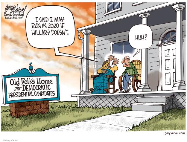 Gary Varvel  Gary Varvel's Editorial Cartoons 2016-12-30 state politician