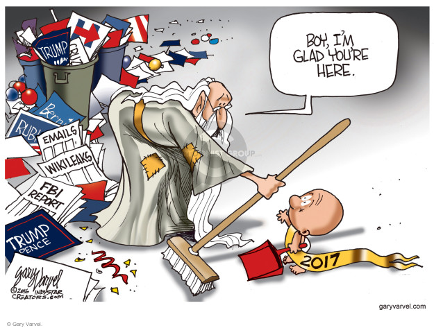 Gary Varvel  Gary Varvel's Editorial Cartoons 2017-01-01 time
