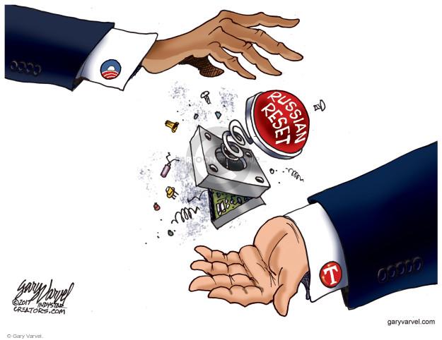 Cartoonist Gary Varvel  Gary Varvel's Editorial Cartoons 2017-01-02 Barack Obama