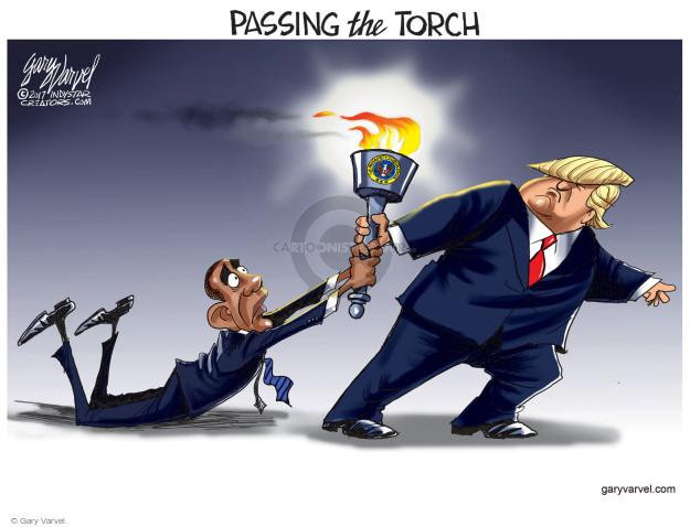 Gary Varvel  Gary Varvel's Editorial Cartoons 2017-01-08 president-elect