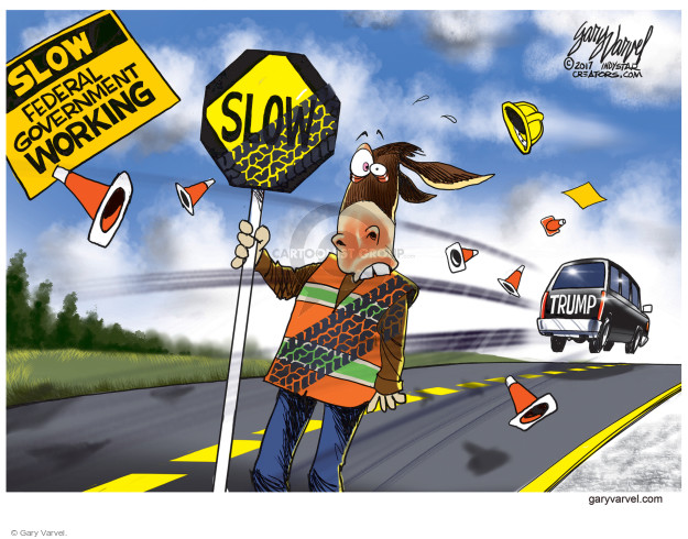 Gary Varvel  Gary Varvel's Editorial Cartoons 2017-01-30 branch of government
