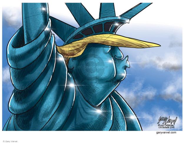 Cartoonist Gary Varvel  Gary Varvel's Editorial Cartoons 2017-01-31 caption
