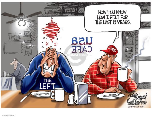 Cartoonist Gary Varvel  Gary Varvel's Editorial Cartoons 2017-02-24 Barack Obama