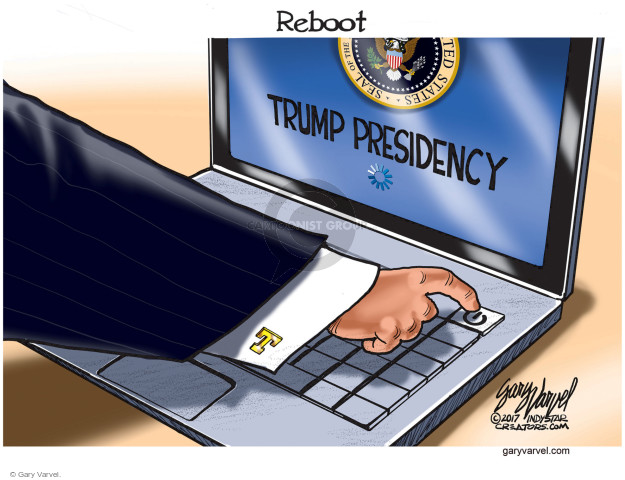 Gary Varvel  Gary Varvel's Editorial Cartoons 2017-03-02 Presidency