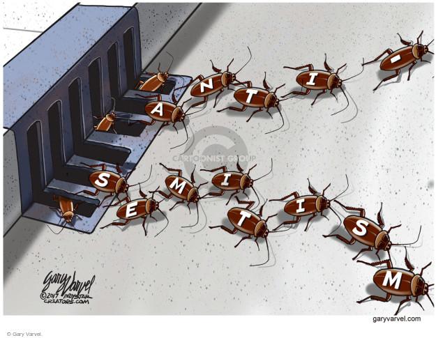 Gary Varvel  Gary Varvel's Editorial Cartoons 2017-03-05 Jewish