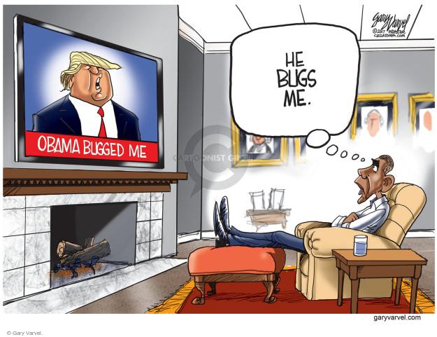 Cartoonist Gary Varvel  Gary Varvel's Editorial Cartoons 2017-03-10 Barack Obama
