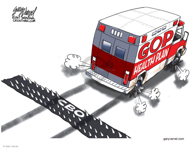 Gary Varvel  Gary Varvel's Editorial Cartoons 2017-03-15 budget
