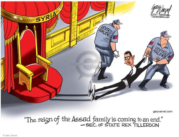 Cartoonist Gary Varvel  Gary Varvel's Editorial Cartoons 2017-04-12 military