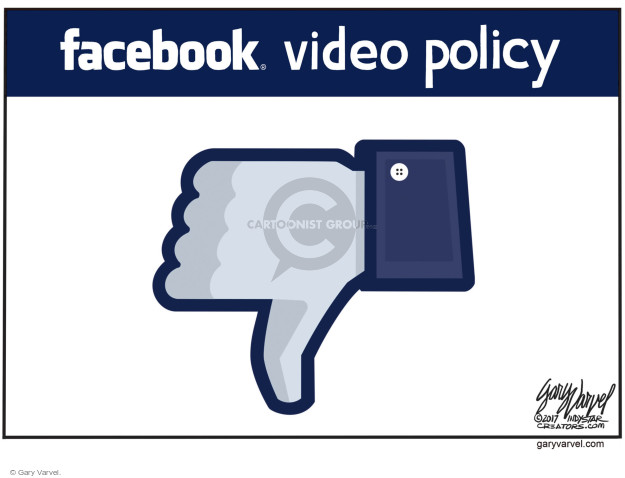 Facebook video policy.