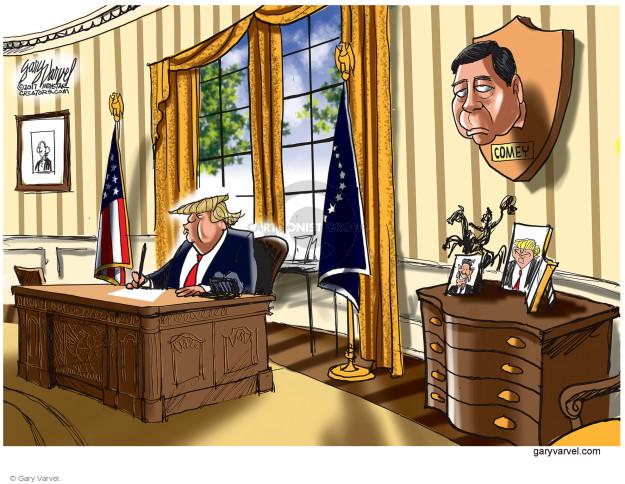 Cartoonist Gary Varvel  Gary Varvel's Editorial Cartoons 2017-05-12 house