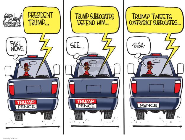 Cartoonist Gary Varvel  Gary Varvel's Editorial Cartoons 2017-05-17 contradiction