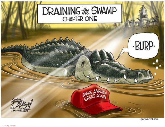 Cartoonist Gary Varvel  Gary Varvel's Editorial Cartoons 2017-05-19 establishment