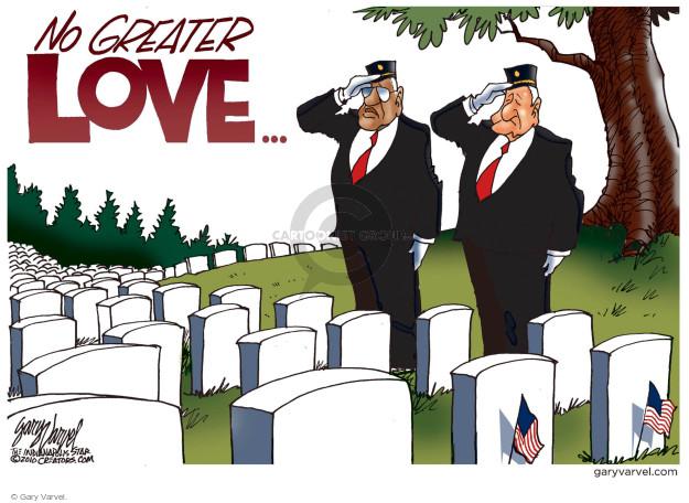 Cartoonist Gary Varvel  Gary Varvel's Editorial Cartoons 2017-05-29 military