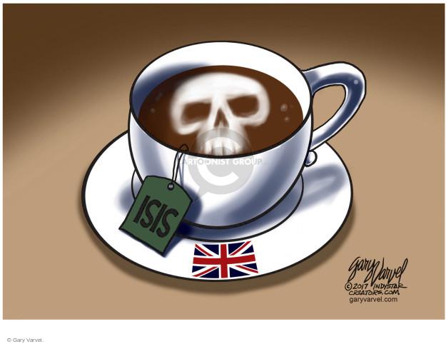 Cartoonist Gary Varvel  Gary Varvel's Editorial Cartoons 2017-06-06 terror