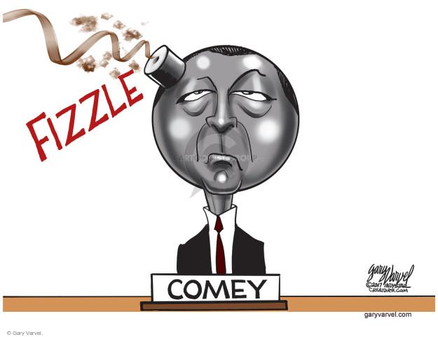 Fizzle. Comey.