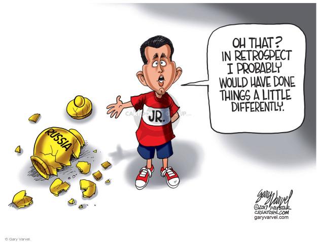 Cartoonist Gary Varvel  Gary Varvel's Editorial Cartoons 2017-07-13 international politics