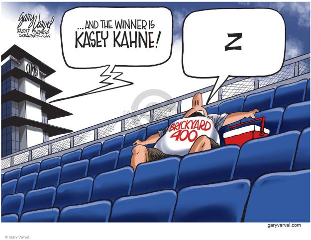Gary Varvel  Gary Varvel's Editorial Cartoons 2017-07-25 race