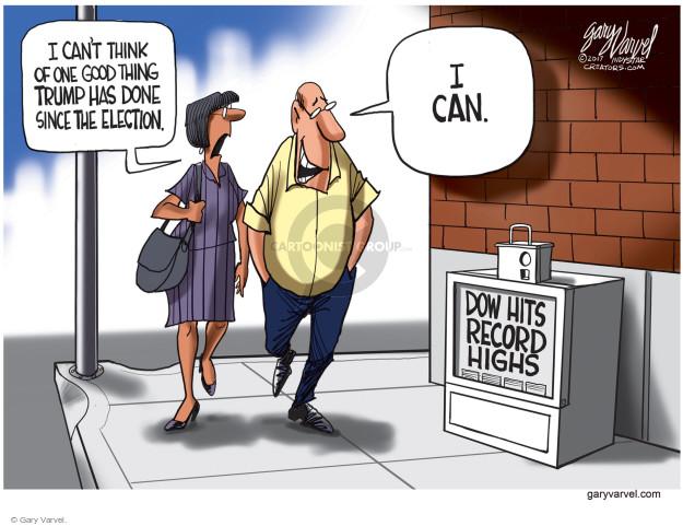 Gary Varvel  Gary Varvel's Editorial Cartoons 2008-02-17 stock market