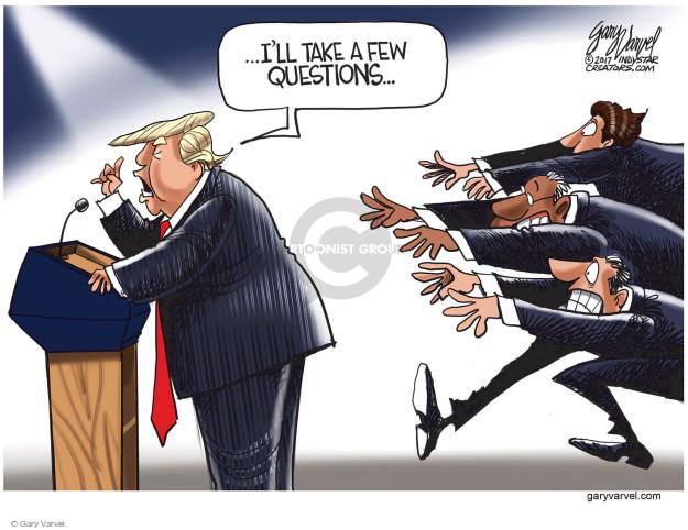 Cartoonist Gary Varvel  Gary Varvel's Editorial Cartoons 2017-08-17 press