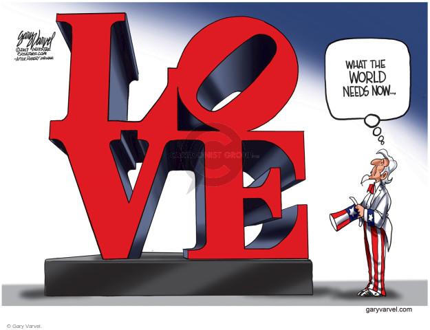 Gary Varvel  Gary Varvel's Editorial Cartoons 2017-08-20 world