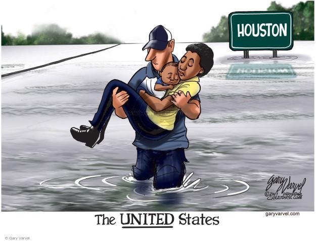 Cartoonist Gary Varvel  Gary Varvel's Editorial Cartoons 2017-08-29 rain