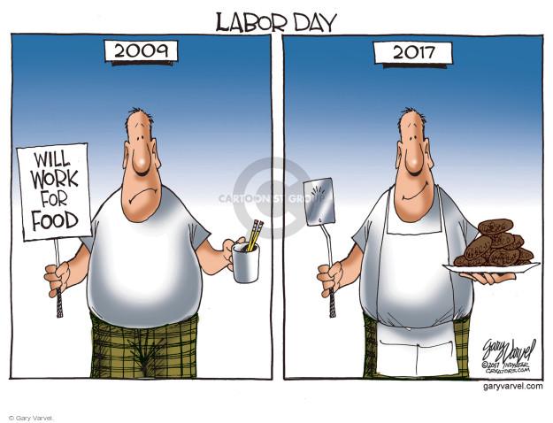Cartoonist Gary Varvel  Gary Varvel's Editorial Cartoons 2017-09-04 growth
