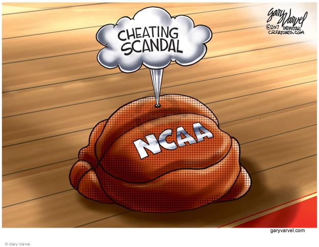 Gary Varvel  Gary Varvel's Editorial Cartoons 2017-09-29 corruption