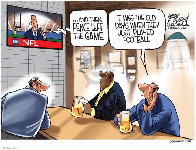 Gary Varvel  Gary Varvel's Editorial Cartoons 2017-10-10 vice president