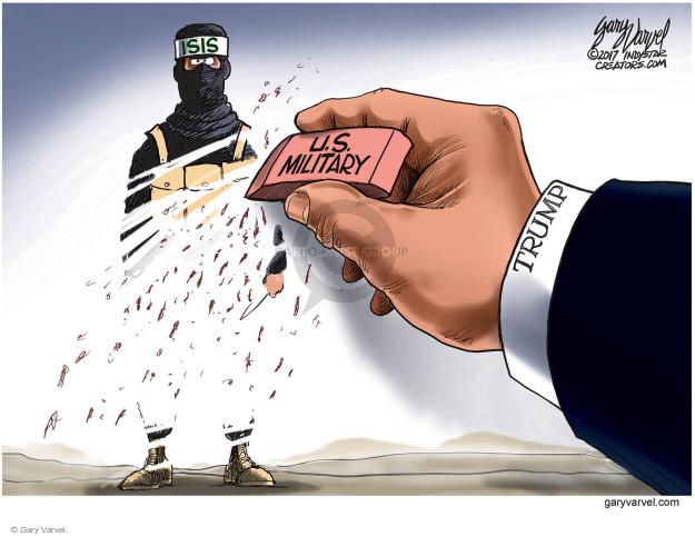 Cartoonist Gary Varvel  Gary Varvel's Editorial Cartoons 2017-10-20 Syria