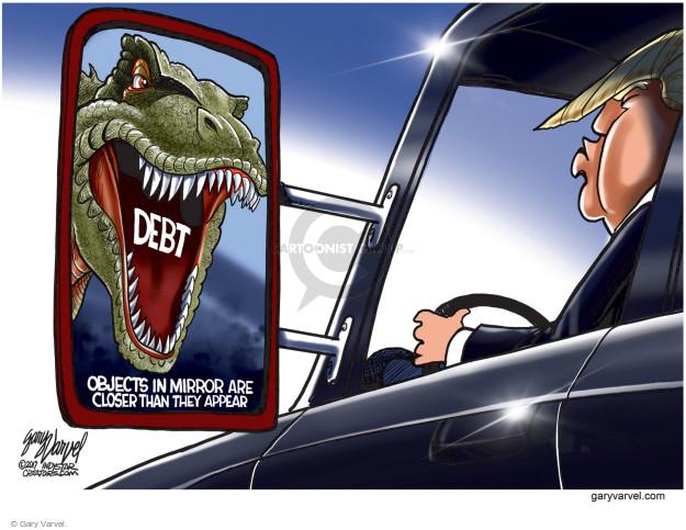 Gary Varvel  Gary Varvel's Editorial Cartoons 2017-10-29 national debt