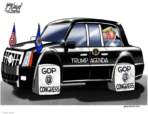 Gary Varvel  Gary Varvel's Editorial Cartoons 2017-11-10 Presidency