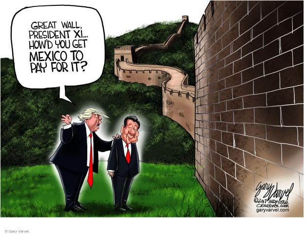 Gary Varvel  Gary Varvel's Editorial Cartoons 2017-11-12 policy