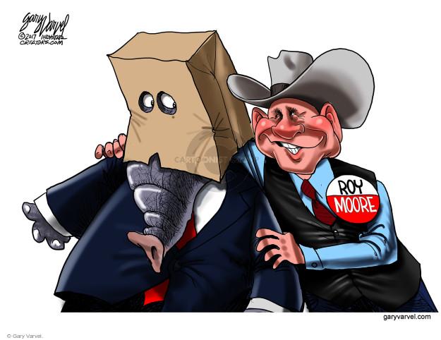 Cartoonist Gary Varvel  Gary Varvel's Editorial Cartoons 2017-11-15 republican candidate