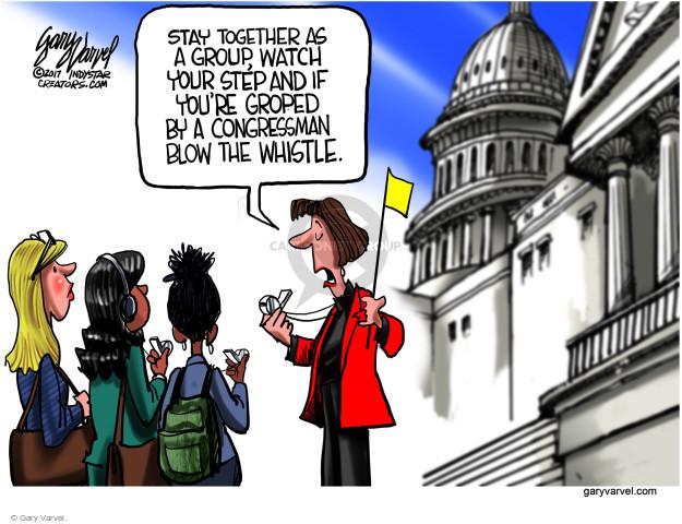 Gary Varvel  Gary Varvel's Editorial Cartoons 2017-11-19 accusation