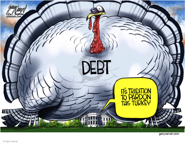 Cartoonist Gary Varvel  Gary Varvel's Editorial Cartoons 2017-11-22 white
