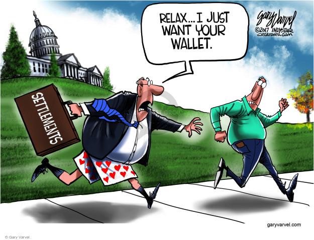 Gary Varvel  Gary Varvel's Editorial Cartoons 2017-11-26 allegation