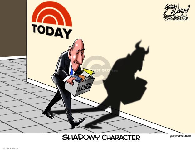 Gary Varvel  Gary Varvel's Editorial Cartoons 2017-12-01 accusation