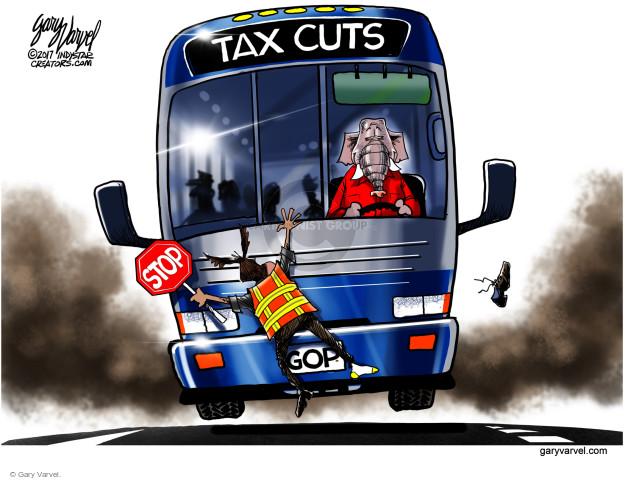 Cartoonist Gary Varvel  Gary Varvel's Editorial Cartoons 2017-12-06 conservative
