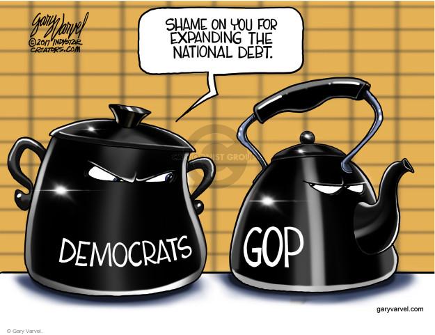 Cartoonist Gary Varvel  Gary Varvel's Editorial Cartoons 2017-12-20 conservative