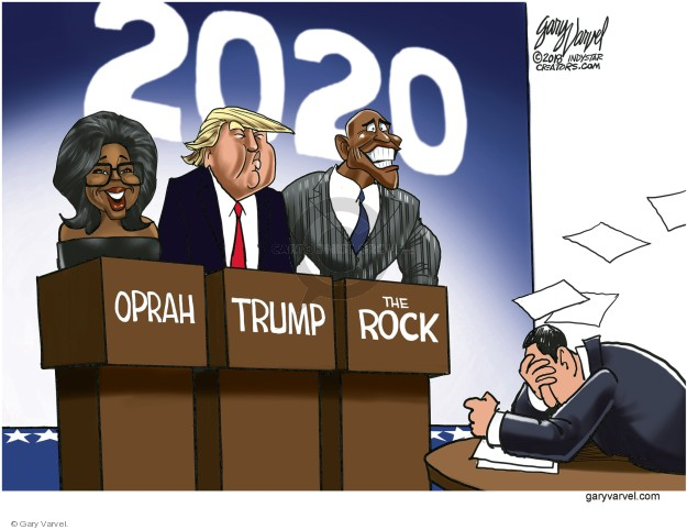 Gary Varvel  Gary Varvel's Editorial Cartoons 2018-01-10 election debate