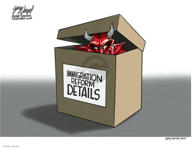 Gary Varvel  Gary Varvel's Editorial Cartoons 2018-01-14 immigration