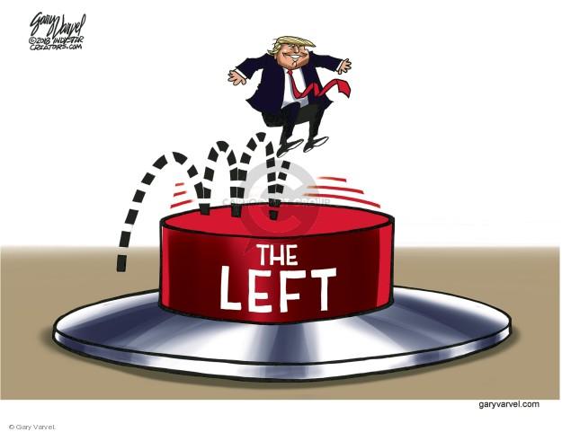 Cartoonist Gary Varvel  Gary Varvel's Editorial Cartoons 2018-01-15 opposition