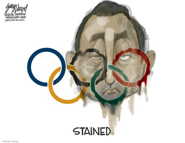 Cartoonist Gary Varvel  Gary Varvel's Editorial Cartoons 2018-01-26 abuse