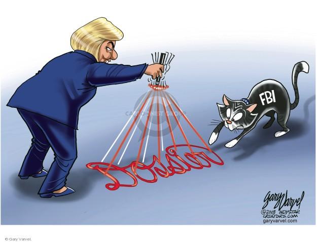 Gary Varvel  Gary Varvel's Editorial Cartoons 2018-02-06 Clinton