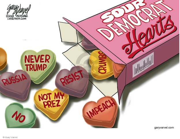 Cartoonist Gary Varvel  Gary Varvel's Editorial Cartoons 2018-02-11 Valentine's Day