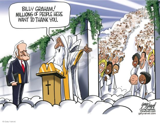 Cartoonist Gary Varvel  Gary Varvel's Editorial Cartoons 2018-02-22 death