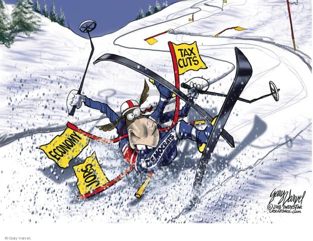 Gary Varvel  Gary Varvel's Editorial Cartoons 2018-02-25 politics