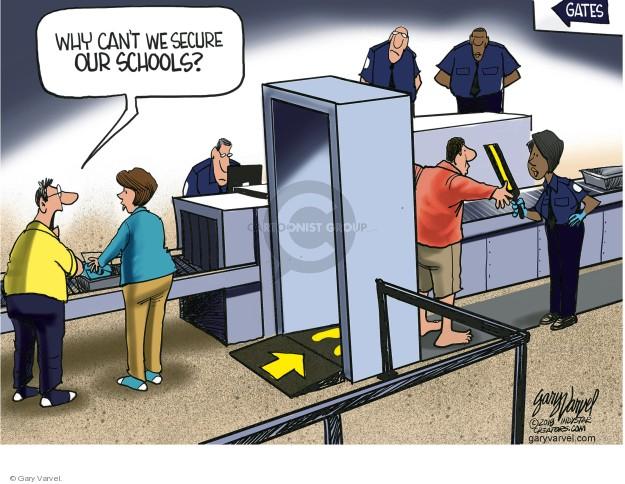 Cartoonist Gary Varvel  Gary Varvel's Editorial Cartoons 2018-02-26 airline