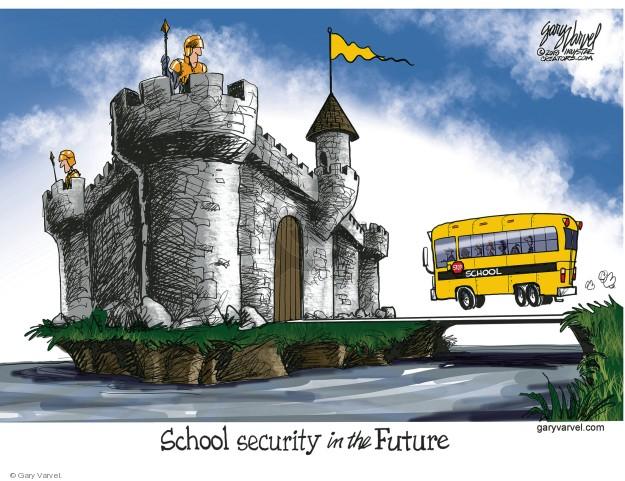 Gary Varvel  Gary Varvel's Editorial Cartoons 2018-02-28 mass shooting